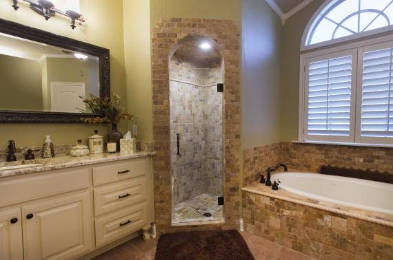 Cracked Bathroom Glass & Shower Doors Enclosures Installation Company